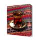 Dekor Sevgisi Çay Canvas Tablo 45x30 cm