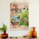 Decor Desing Askılı Deri Duvar Posteri Hak094