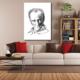 Tablom Atatürk Portre Kanvas Tablo