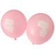 Elitparti İlk Dişim Çıktı Pembe Latex Balon