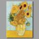 Tablom Vazoda Ay Çiçekleri Van Gogh Tablo