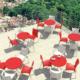 Siesta Contract Romeo Sandalye - Kırmızı
