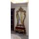 Dresuarstore Filiz Puflu Boy Aynası Altın Varak Eskitme
