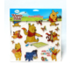 Winnie The Pooh 3D Puffy Sticker + Frozen Tattoo Hediye DS-221