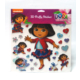Dora 3D Puffy Sticker + Frozen Tattoo Hediye DR-007