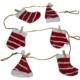 HKostüm İpe Mandalla Dizili Noel Baba Kıyafet Süsü