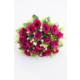 Yapay Çiçek Deposu Yapay Çiçek Kabarık 18Li Gül Buketi