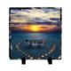 Fotografyabaski Romantik Sahil Akşamı - Kare Taş 15X15Cm