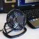 Masaüstü Sessiz Mini Usb Vantilatör - Plastik Fan