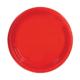 Elitparti Kırmızı Plastik Tabak