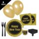 KullanAtMarket Happy New Year Parti Seti 8 Kişilik