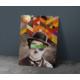 Javvuz Charlie Chaplin - Dekoratif Duvar Plaka