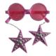 Partioutlet Küpeli Gözlük - Pembe