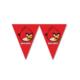 Tahtakale Toptancısı Angry Birds Klasik Üçgen Flama Bayrak Set (1 Paket)