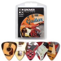Grover Allman Guitar Pena Set