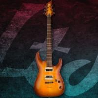 Esp Ltd H-101 Flamed Maple Amber Sunburst Elektro Gitar