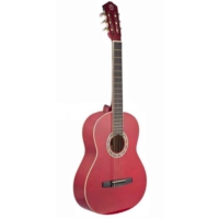 Castle Csg-160 Red 4/4 Tam Boy Gitar
