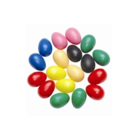 Mitello Egg27 - Yumurta Marakas ( 1 Adet ) Floresan Renklerde