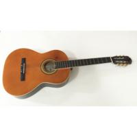 Cremonia Klasik Gitar Koyu Naturel Sap Çelikli + Kılıf