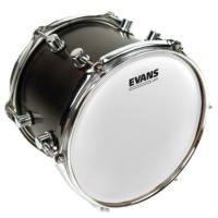 Evans B10Uv1 Deri 10'' Uv1 Serisi, Tom Ve Trampet İçin Kumlu Beyaz, Tek Kat