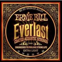 Ernie Ball P02560 10-50 Coated Akustik Gitar Teli
