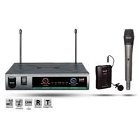 Roof R-720 Kablosuz Uhf 1 El + 1 Yaka Mikrofonu