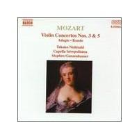 Mozart - Violin Concertos Nos. 3 & 5 (Cd)