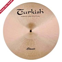 Turkish Cymbals Turkish Cymbals Classic Crash Thin C-Ct17