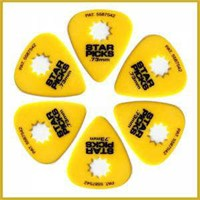Star Picks Delrin Pick Yellow - 0,73 Mm Pena