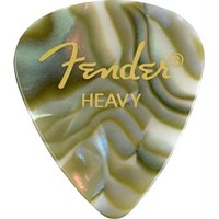 Fender Celluloid 351 Picks Heavy Abalone