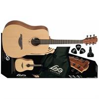 Lag Gla T44D Dreadnought Akustik Gitar Paketi