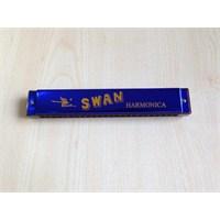 Mızıka 24 Delikli Swan Sw24-Bl Mavi