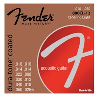 Fender Dura-Tone Coated, 80/20 Acoustic Guitar Str