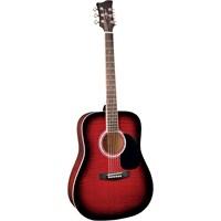 Jay Turser JJ-45-PAK-RSB Akustik Gitar