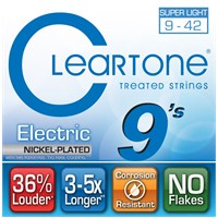 Cleartone Electric Ultra Light (9-42) Elektro Gitar Teli