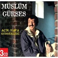 Müslüm Gürses Açık Hava Konserleri (3 CD)