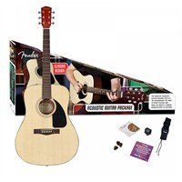 Fender Cd-60 Pack Natural V2 Akustik Gitar