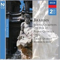 Takacs Quartet And Andras Schiff - Brahms: String Quartets Piano Quintet