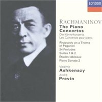 Vladimir Ashkenazy - Rachmaninov: The Piano Concertos (6 Cd)