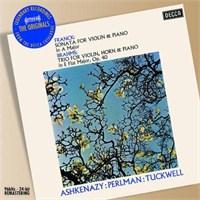 Vladimir Ashkenazy - Franck: Vıolın Sonata: Brahms: Trıo For Vıolın,Horn