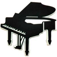 Kuyruklu Piyano Kauçuk Mıknatıs