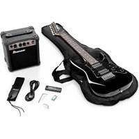 Ibanez Ijm21Ru-Bkn Elektro Gitar Seti