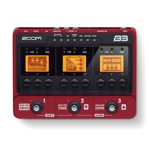 Zoom B3 Bass Gitar Prosesör