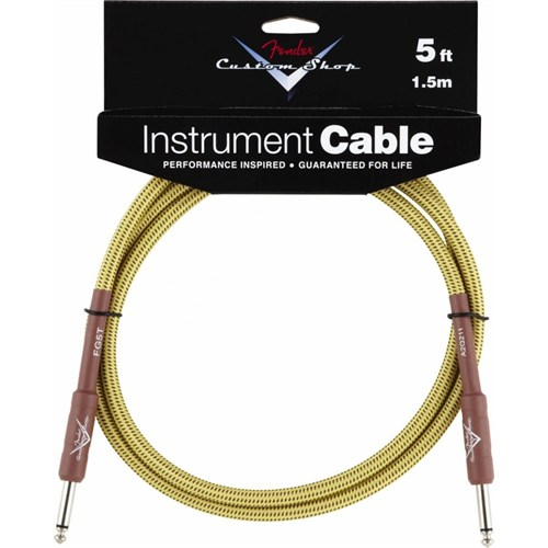 Fender 5' Custom Shop Performance Series Cable, Tw