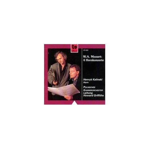 W. A. Mozart - 4 Hornkonzerte Cd