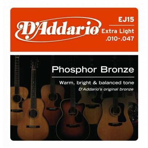 Daddario Ej15 Akustik Gitar Teli Extra Light