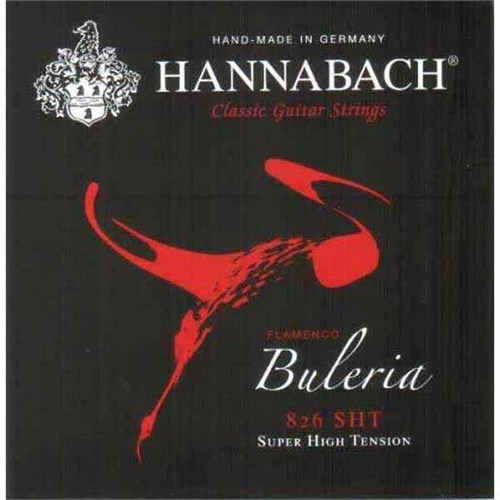 Flamenko Gitar Teli Hannabach 826 Sht