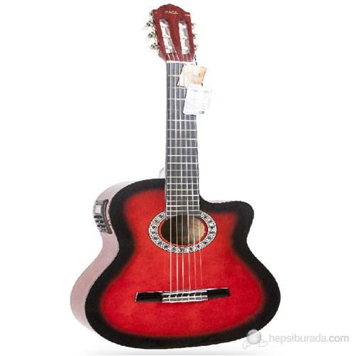 Miguel Angela MA160CE-RDS Elektro Klasik Gitar