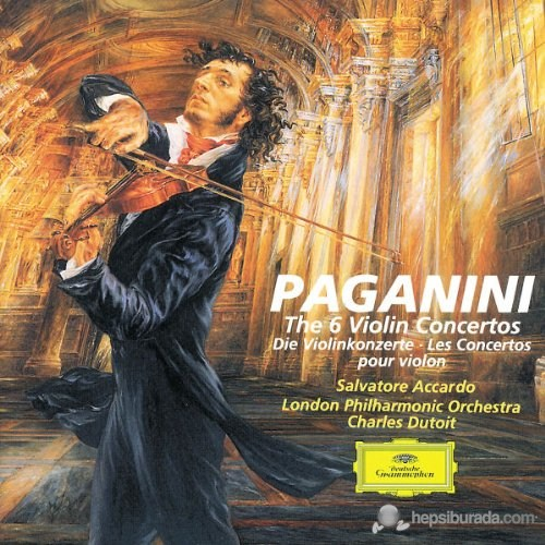 Salvatore Accardo - Paganini: The 6 Violin Concertos