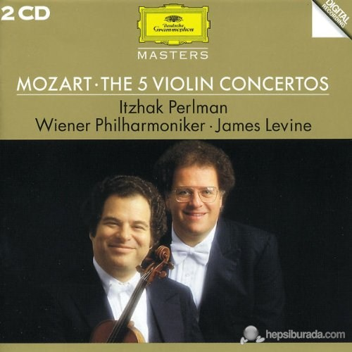 Itzhak Perlman - Mozart: The 5 Violin Concertos (2 CD)